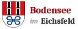 Gemeinde Bodensee im Eichsfeld Logo